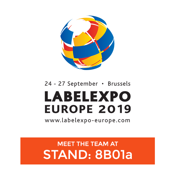 See Us Live at Label Expo 2019