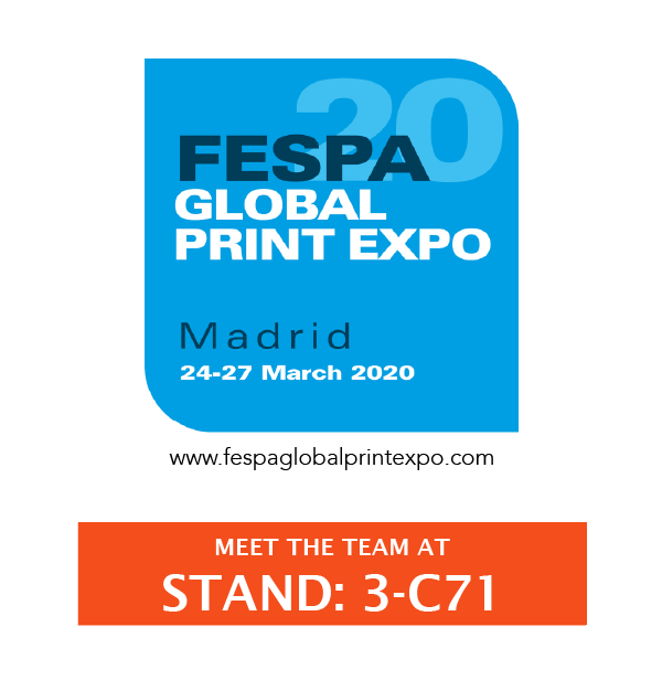 See Us Live at FESPA Madrid 2020